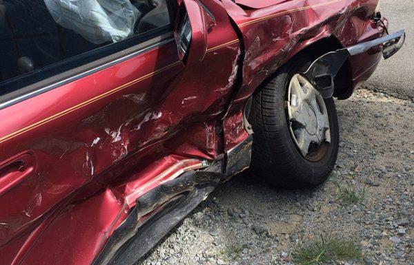 לאחר תאונת דרכים